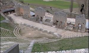 El anfiteatro de Clunia