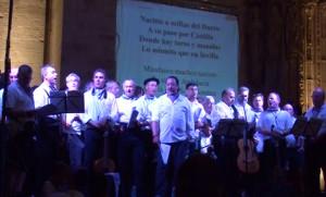 Cantada popular de la Peña El Chilindrón.