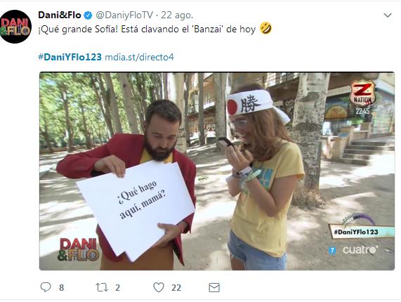 Programa Dani&Flo Sonorama 2017