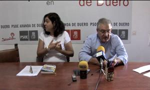 Mar Alcalde e Ildefonso Sanz