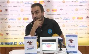 Álvaro Senovilla, en la previa al partido de mañana.