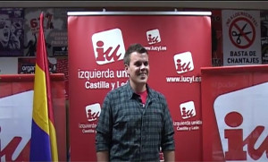 Jonathan Gete, portavoz de IU Aranda