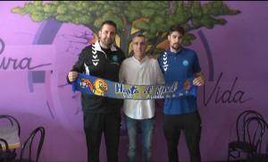 Rafa Margareto, Santi Altable y Antonio Barco