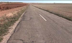 Un tramo de esta conflictiva carretera