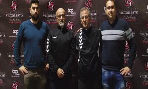 Ricardo Jiménez, Manolo Vecino, Carlos Colmenero y Álvaro Perote.