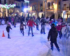 Pista de patinaje, pista de hielo