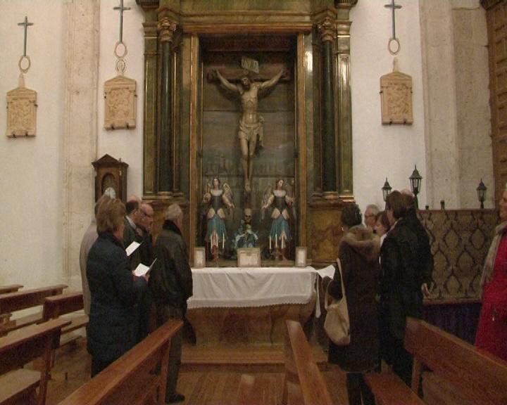 La iglesia de Sotillo será alguno de los espacios visitable