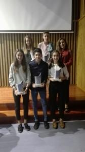 Los premiados en la gala de atletismo de CyL