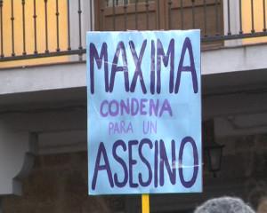 Imagen de la concentración celebrada en Aranda.