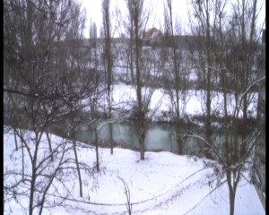 Nieve por Filomena en Aranda