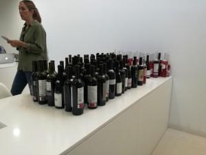 Alguno de los vinos que han catado los expertos de la Guía Peñín