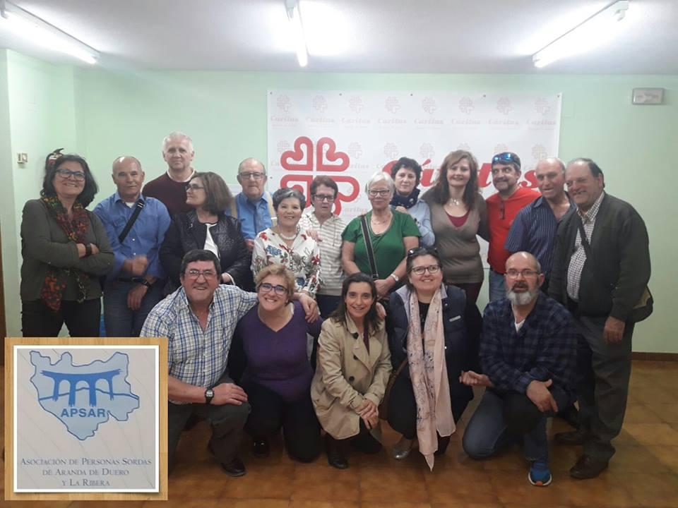 Celebración del Día Nacional del Lenguaje de Signos Foto: Facebook APSAR