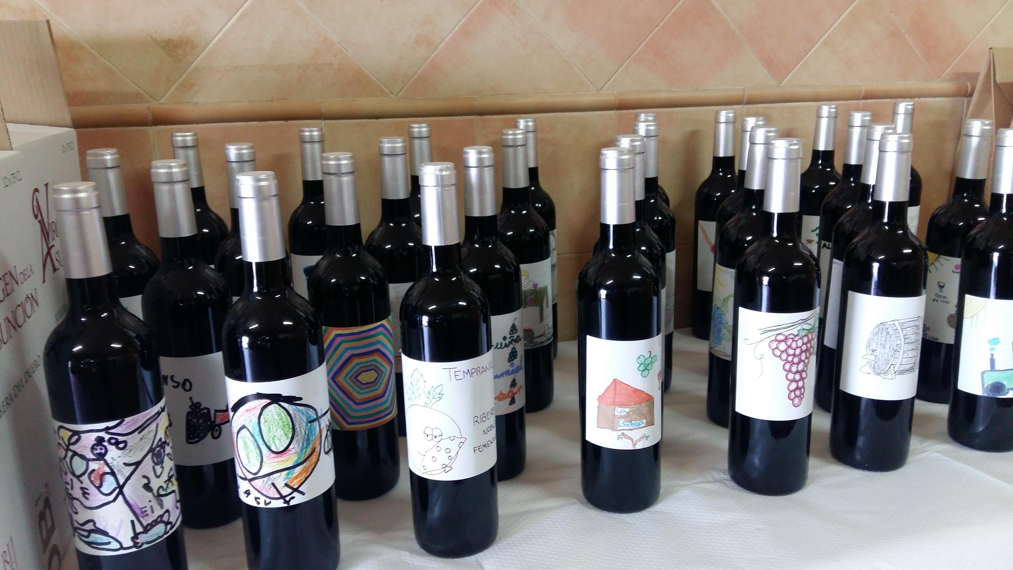 Botellas El Vino Solidario