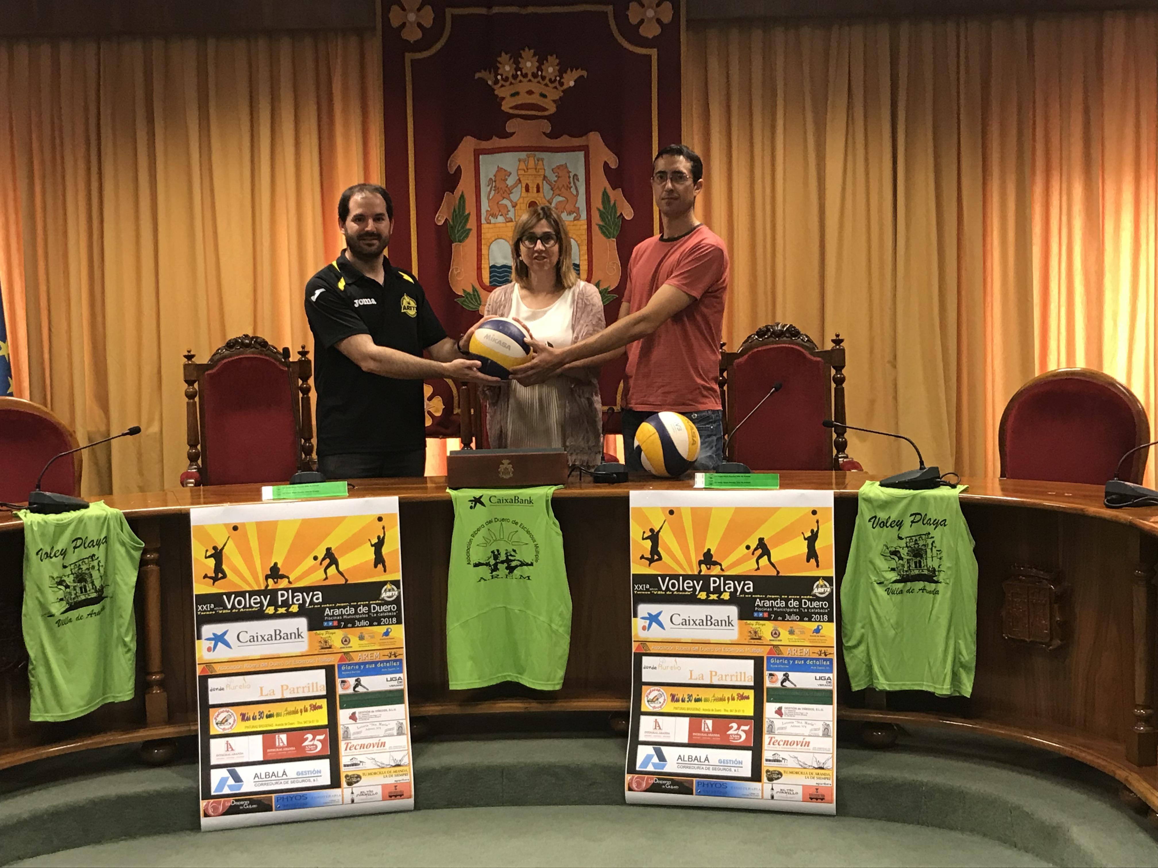 XXI Torneo Voley Playa Popular Villa de Aranda