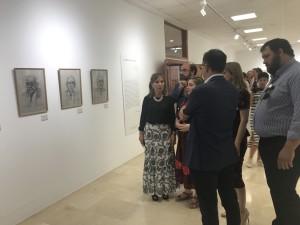 Casa de la Cultura. Exposición Félix de la Vega