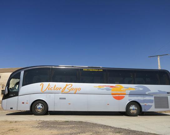 Autobús Viajes Bayo. Foto: web Viajes Bayo