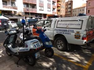 Vehículos nuevos de Protección Civil