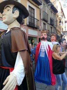 Gigantes y Cabezudos Fiestas Patronales Aranda de Duero 2018