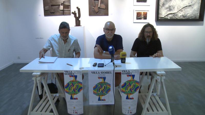 Presentación del I Certamen de Teatro Villa Gomel