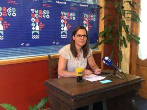 Olga Maderuego, concejala de Promoción, Turismo e Innovación presenta la XXXII edición de Fiduero